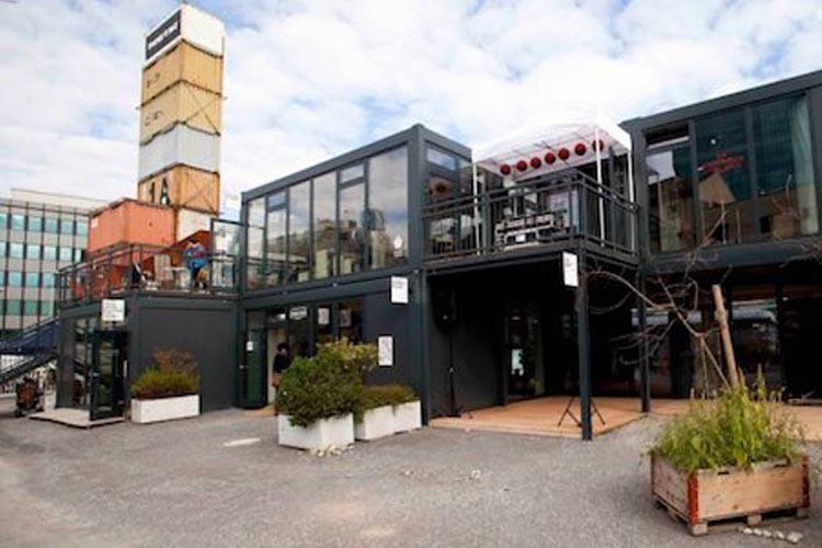garten container, frau gerolds zurich | jure kotnik architecture, Design ideen