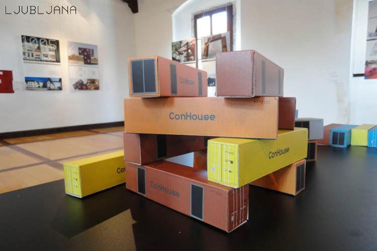 Container Architecture Exhibition Jure Kotnik Architecture